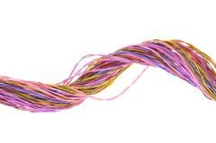 Wiązka barwioni komputerowi druty Zdjęcia Stock