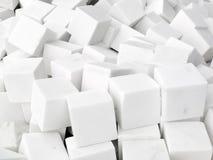 Wiązka biali brukowowie Fotografia Stock