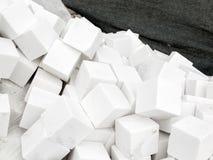 Wiązka biali brukowowie Zdjęcie Royalty Free
