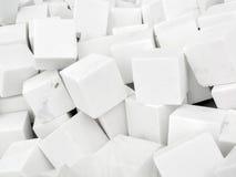 Wiązka biali brukowowie Zdjęcia Royalty Free