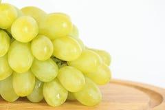 Wiązka biali winogrona Zdjęcia Royalty Free