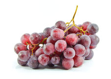 Wiązka czerwoni winogrona   Zdjęcie Royalty Free