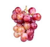 Wiązka czerwony winogrono Obrazy Royalty Free