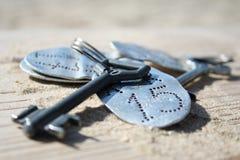 wiązka klucze Obraz Stock