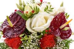 Wiązka kolorowi kwiaty Zdjęcia Royalty Free