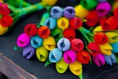wiązka sztuczni kwiaty Fotografia Stock