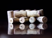 wiązki korków wino Obraz Stock