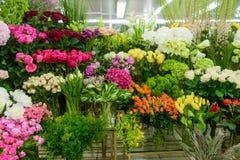 Wiązki kwiaty fotografia stock