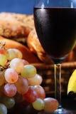 wiązki winogron wino Fotografia Stock