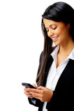 wiadomość biznesowy telefon Zdjęcie Stock