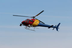 Wiadomość helikopter Zdjęcia Stock