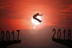 2018 wiadomość roku tło Fotografia Royalty Free