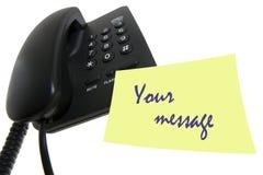 wiadomość telefon Zdjęcie Stock