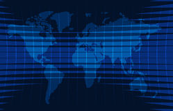 Wiadomości tło, wiadomość dnia, wektorowy infographic z wiadomość tematu mapą świat Zdjęcie Stock