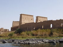 wiadomo do philae Egiptu temple Obrazy Royalty Free
