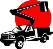 wiadro ciężarówka ilustracji