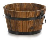 wiadro drewniany Fotografia Stock