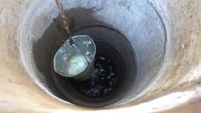 Wiadro woda Od A Well zdjęcie wideo