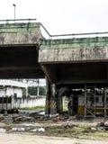 Wiadukt Brze?na Pinheiros autostrada obrazy royalty free