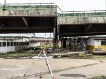 Wiadukt Brze?na Pinheiros autostrada obraz stock