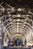 wiadukt nowa ulica York Zdjęcia Royalty Free