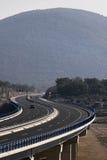 Wiadukt oh autostrada A1, Chorwacja Zdjęcie Royalty Free