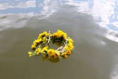 Wianek na wodzie Zdjęcie Stock