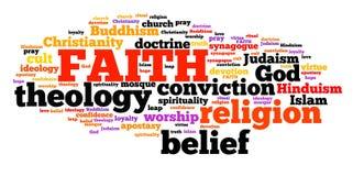 wiara ilustracja wektor