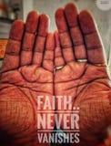 wiara obraz stock