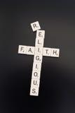 wiara religijna fotografia stock