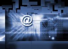 świat internetu Zdjęcia Stock