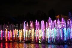 Świat koloru przedstawienie w Kalifornia przygodzie Obraz Royalty Free