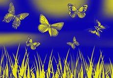 świat motyla Zdjęcia Royalty Free