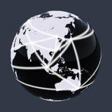 świat netto ilustracja wektor