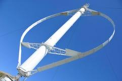 Świat osi wielki pionowo silnik wiatrowy Fotografia Stock