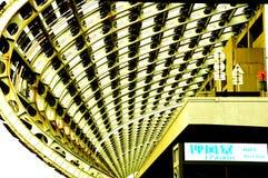 ?wiat wielka powystawowa sala, budynek, Guangzhou Pazhou Mi?dzynarodowy Powystawowy centrum obraz stock