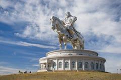 Świat wielka statua Genghis Khan Zdjęcie Royalty Free