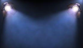Światło reflektorów Zdjęcia Stock