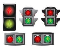 światło zaludnia ruch drogowy Obrazy Stock