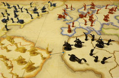 Światowa dominaci gra planszowa ilustracja wektor