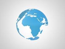 Światowa kula ziemska royalty ilustracja