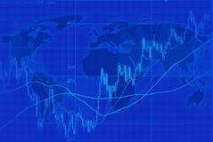 Światowa mapa Obraz Stock