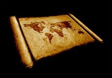 Światowa mapa royalty ilustracja
