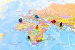 Światowa mapa Obraz Royalty Free