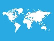 Światowa mapa Zdjęcie Royalty Free