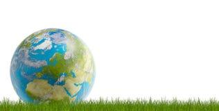 Światowa planety ziemi kula ziemska 3d-illustration Elementy ten wizerunek ilustracja wektor