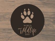 Światowa przyroda dnia karta Fotografia Royalty Free