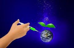 Światowa szczepionka Zdjęcie Royalty Free
