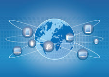 Światowa technologia Zdjęcie Stock