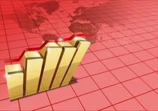 Światowe statystyki royalty ilustracja